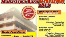 baliho pmb unidar 2015