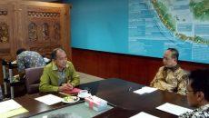 pertemuan gubernur maluku dengan menteri nasir